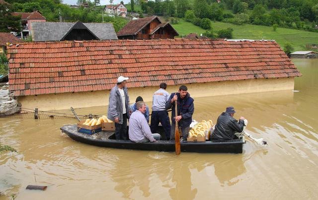 State of emergency declared due to flooding in Serbia