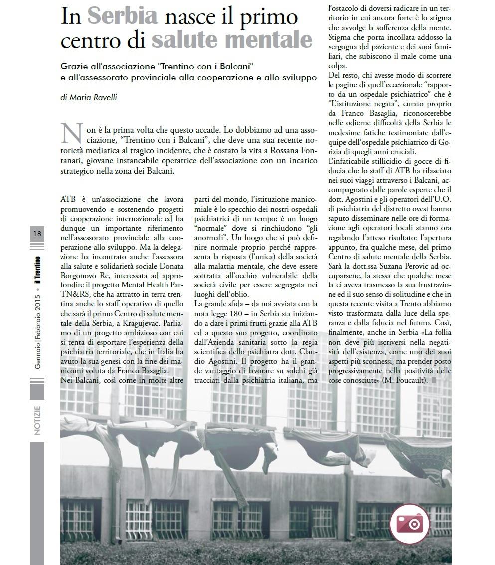 Articolo Ravelli CSM Serbia