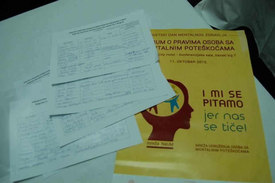 Materiale informativo - Forum delle associazioni 10 ottobre 2013