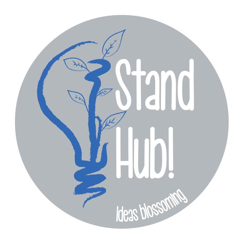 logo stand hub