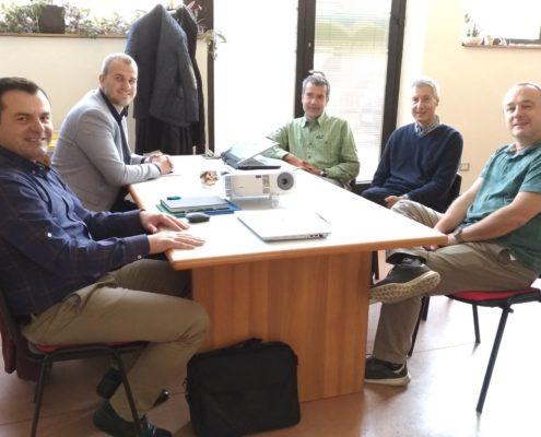 22_10_2018 Incontro con Albatros SRL - Focal point P125 Serbia e Albania in Trentino