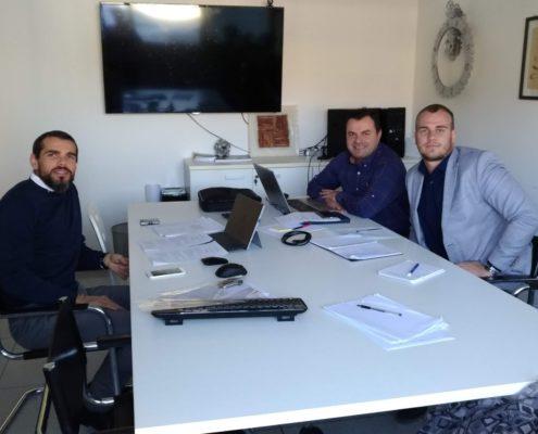 22_10_2018 Incontro con ETC Engineering - Focal point P125 Serbia e Albania in Trentino