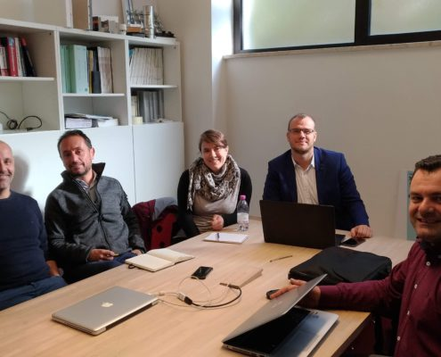 23_10_2018 Incontro con Tera Group e F360 SRL - Focal point P125 Serbia e Albania in Trentino