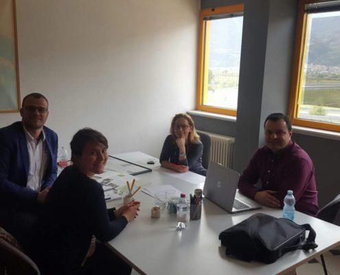 23_10_2018 Incontro con Iser SRL - Focal point P125 Serbia e Albania in Trentino