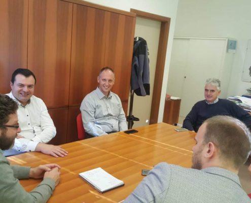 24_10_2018 Incontro con ADEP - Focal point P125 Serbia e Albania in Trentino